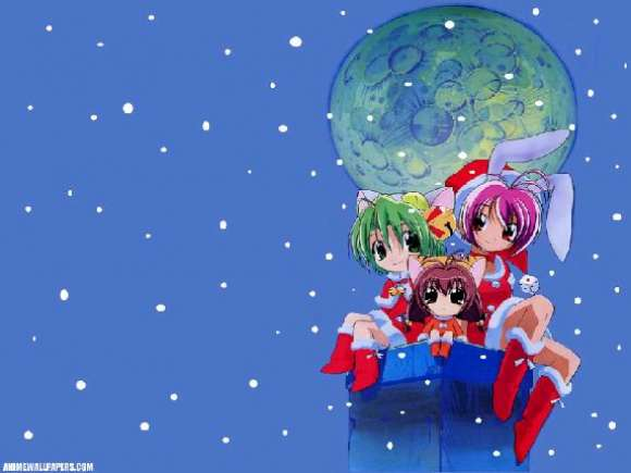 Аниме - Di Gi Charat Christmas Special 2000