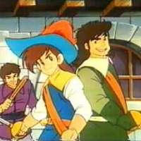 Аниме - Three Musketeers -The Adventure of Aramis